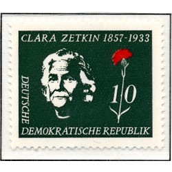 1957 Germany DDR Sc 0 Zetkin Clara  *MH Nice, Mint Hinged  (Scott)