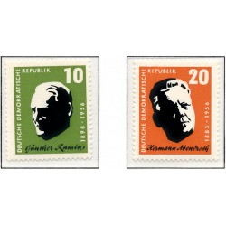 1957 Germany DDR Sc 0 Abendroth and Ramin, to build up  *MH Nice, Mint Hinged  (Scott)