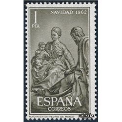 1962 Spanien 1372 Weihnachten Weihnachten ** Perfekter Zustand  (Michel)