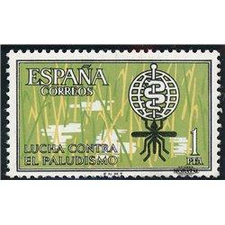 1962 Espagne 1146 Anti paludisme Bienfaisance **MNH TTB Très Beau  (Yvert&Tellier)