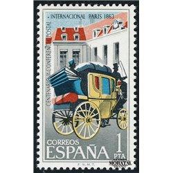 1963 Spanien 1395 C.P.I. Amtlichen Stellen ** Perfekter Zustand  (Michel)