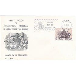 1980 Spanien 2465 Hazienda  Ersttagsbrief  Guter Zustand  (Michel)