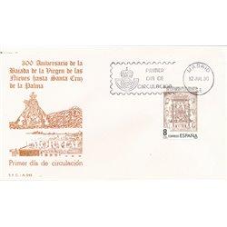 1980 Spanien 2469 Frau De Las Nieves  Ersttagsbrief  Guter Zustand  (Michel)
