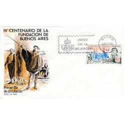 1980 Spanien 2475 Buenos Aires  Ersttagsbrief  Guter Zustand  (Michel)