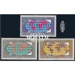 1963 Spanien 1396/1398  Tag der Briefmarke Philatelie ** Perfekter Zustand  (Michel)