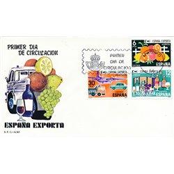 1981 Spanien 2509/2511  Exportiert wird  Ersttagsbrief  Guter Zustand  (Michel)