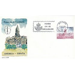 1981 Spain  Sc 2250 Espamer'81 Exposition FDC Nice  (Scott)