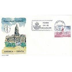 1981 Spanien 2521 Espamer 81 Ausstellung Ersttagsbrief  Guter Zustand  (Michel)