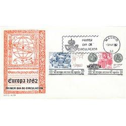 1982 Spanien 2545/2546  Europa Europa Ersttagsbrief  Guter Zustand  (Michel)