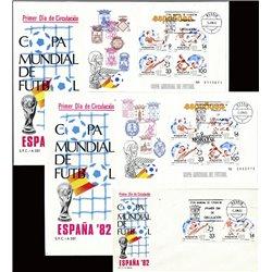 1982 Spanien Block25/26  Block-Spanien ' 82 Sport Ersttagsbrief  Guter Zustand  (Michel)
