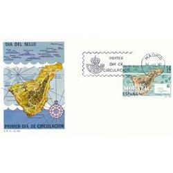 1982 Spanien 2554 Tag der Briefmarke Philatelie Ersttagsbrief  Guter Zustand  (Michel)