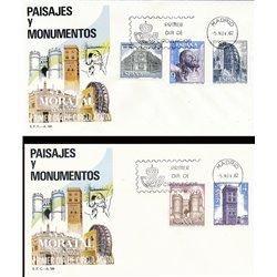 1982 Spanien 2562/2566  Landschaften II Tourismus Ersttagsbrief  Guter Zustand  (Michel)