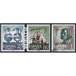 1963 Spanien 1401/1403  Spanier  ** Perfekter Zustand  (Michel)