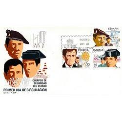 1983 Spanien 2574/2576  Polizei Militär Ersttagsbrief  Guter Zustand  (Michel)