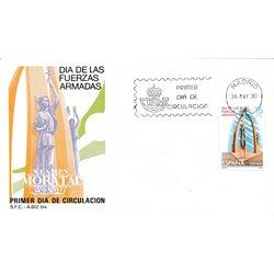 1983 Spanien 2593 Streitkräfte Militär Ersttagsbrief  Guter Zustand  (Michel)