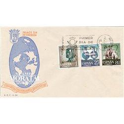 1963 Spanien 1401/1403  Spanier  * Falz Guter Zustand  (Michel)