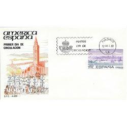 1983 Spanien 2606 Amerika-Spanien Amerika Ersttagsbrief  Guter Zustand  (Michel)