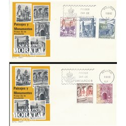 1983 Spanien 2610/2614  Landschaften III Tourismus Ersttagsbrief  Guter Zustand  (Michel)
