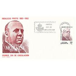 1983 Spanien 2617 Indalecio  Ersttagsbrief  Guter Zustand  (Michel)