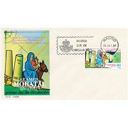 1984 Spanien 2656 Nonne Egeira Religiös Ersttagsbrief  Guter Zustand  (Michel)