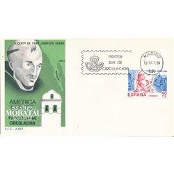 1984 Spanien 2658 Amerika-Spanien Amerika Ersttagsbrief  Guter Zustand  (Michel)
