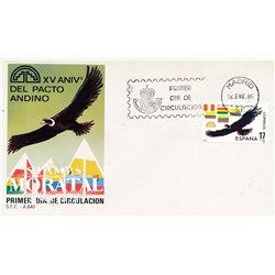 1985 Spanien 2663 Andenpakt  Ersttagsbrief  Guter Zustand  (Michel)