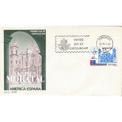 1985 Spanien 2667 Amerika-Spanien Amerika Ersttagsbrief  Guter Zustand  (Michel)