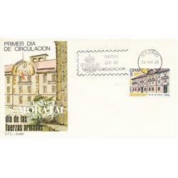 1985 Spanien 2673 Streitkräfte Militär Ersttagsbrief  Guter Zustand  (Michel)