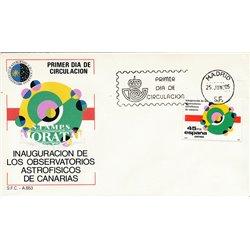 1985 Spanien 2684 Sternwarte  Ersttagsbrief  Guter Zustand  (Michel)