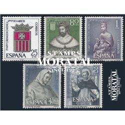 1963 Spanien 1413/1417  Die Gnade  ** Perfekter Zustand  (Michel)