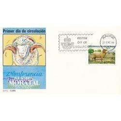 1986 Spanien 2716 Merino Fauna Ersttagsbrief  Guter Zustand  (Michel)