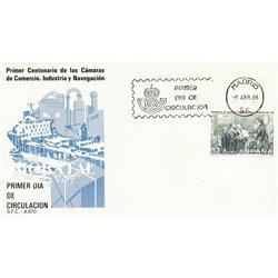 1986 Spanien 2724 Handelskammer Amtlichen Stellen Ersttagsbrief  Guter Zustand  (Michel)