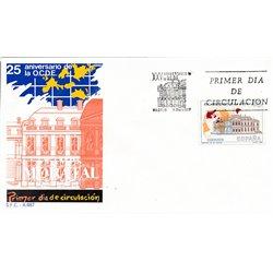1987 Spanien 2757 O.C.D.E. Amtlichen Stellen Ersttagsbrief  Guter Zustand  (Michel)