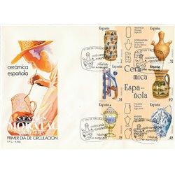 1987 Spanien 2771/2776 Zd-Bogen Handwerk-block Handwerk Ersttagsbrief  Guter Zustand  (Michel)