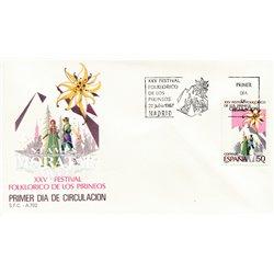 1987 Spanien 2791 Jaca Sport Ersttagsbrief  Guter Zustand  (Michel)
