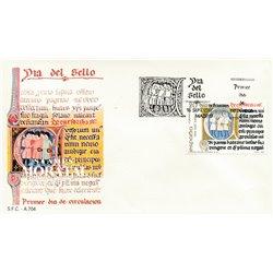 1987 Spanien 2793 Tag der Briefmarke Philatelie Ersttagsbrief  Guter Zustand  (Michel)