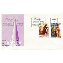 1988 Spanien 2814/2815  Fest V Fest Ersttagsbrief  Guter Zustand  (Michel)
