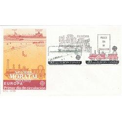 1988 Spanien 2828/2829  Europa Europa Ersttagsbrief  Guter Zustand  (Michel)
