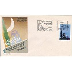 1988 Spanien 2832 Tanz Sport Ersttagsbrief  Guter Zustand  (Michel)