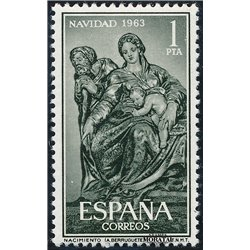 1963 Espagne 1204 Noël Noël **MNH TTB Très Beau  (Yvert&Tellier)