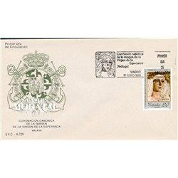 1988 Spanien 2834 Natives Esper. Religiös Ersttagsbrief  Guter Zustand  (Michel)