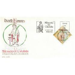 1988 Spanien 2841 Catalonia  Ersttagsbrief  Guter Zustand  (Michel)