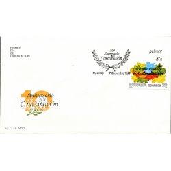 1988 Spanien 2863 Verfassung Amtlichen Stellen Ersttagsbrief  Guter Zustand  (Michel)