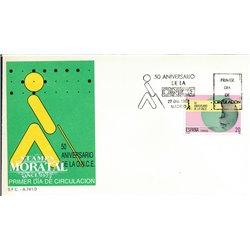1988 Spanien 2865 EINMAL Amtlichen Stellen Ersttagsbrief  Guter Zustand  (Michel)