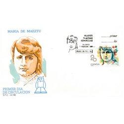 1989 Spanien 2870 Maria de Maeztu  Ersttagsbrief  Guter Zustand  (Michel)