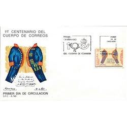 1989 Spanien 2879 Bereitstellen Philatelie Ersttagsbrief  Guter Zustand  (Michel)