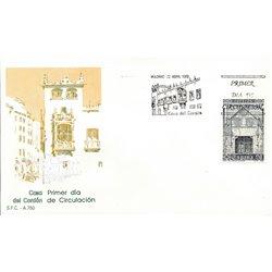 1989 Spanien 2881 Haus-Spitze Tourismus Ersttagsbrief  Guter Zustand  (Michel)