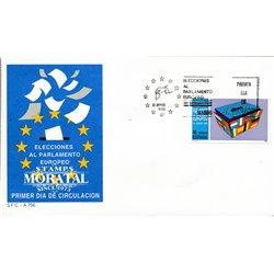 1989 Spanien 2894 Parlament Amtlichen Stellen Ersttagsbrief  Guter Zustand  (Michel)