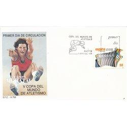 1989 Spanien 2902 Leichtathletik Sport Ersttagsbrief  Guter Zustand  (Michel)