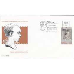 1989 Spanien 2904 Alfons XIII.  Ersttagsbrief  Guter Zustand  (Michel)